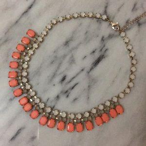 Tri Color Crystal Necklace